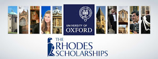 Apply for the 2018 Rhodes Scholarship