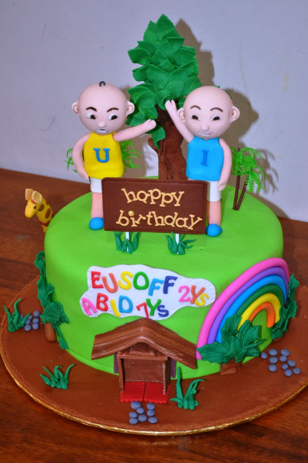 MyPu3 Cake House Upin Ipin Cake