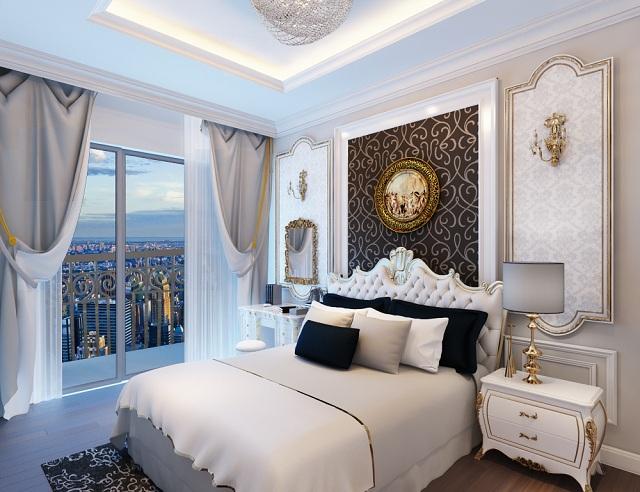Phong cách thiết kế căn hộ 4 phòng ngủ cao cấp rất được ưa chuộng hiện nay - H4