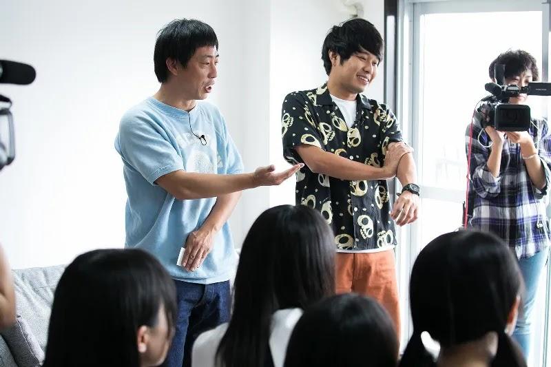 Morita Tetsuya dan Azuma Bukuro akan jadi MC di variety show Nogizaka Doko e
