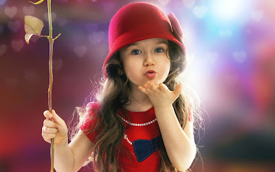 The fresh wallpaper cute and lovely baby pictures free download hd wallpaper of little baby girls voltagebd Gallery