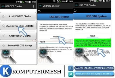 Cara Mengetahui HP Android Support USB OTG atau Tidak