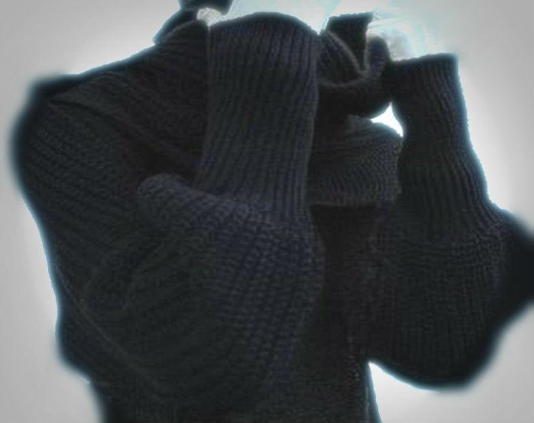 gk kreativ: Schal mit Ärmeln