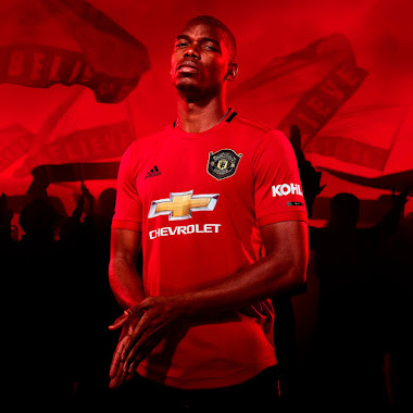 3ea2d892157 Adidas Manchester United 19-20 Home Kit Pays Homage to 1999 Champions  League-Winning Kit
