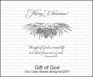 Our Daily Bread Designs - Stamps Gift of God