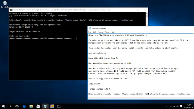 How To Instal .NET Frame Work 3.5 Using CMD on Windows 10 All Version