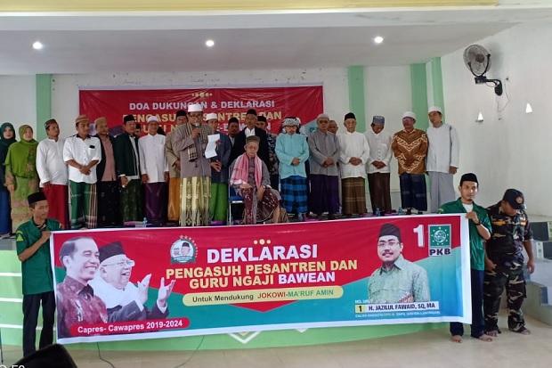 Kiai dan Guru Ngaji se-Bawean Deklarasi Dukung KH Maruf Amin