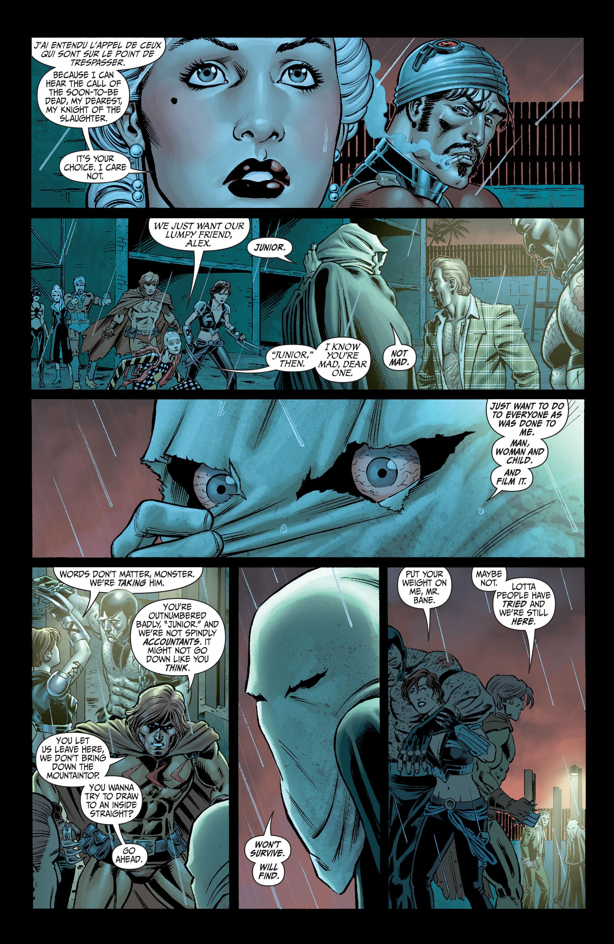 Read online Secret Six (2008) comic -  Issue #6 - 7