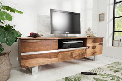 komody Reaction, nábytek z masivního dřeva, nábytek ze dřeva a kovu