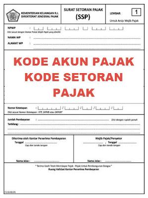 Kode Akun Pajak PPN Dalam Negeri
