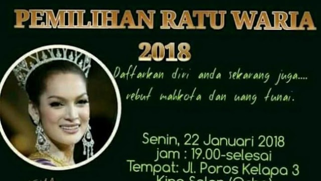 Polisi Batalkan Pagelaran Pemilihan Ratu Waria di Makassar