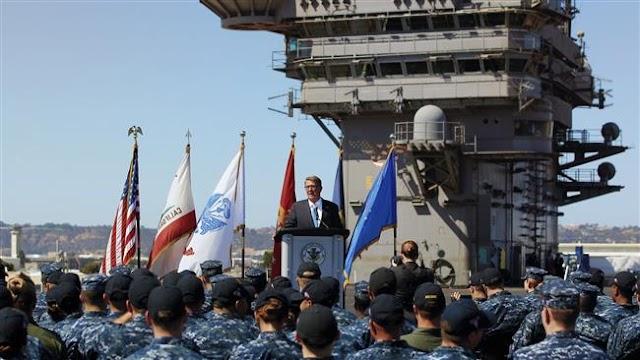 Defense Secretary Ashton Carter says US will 'sharpen military edge in Asia'