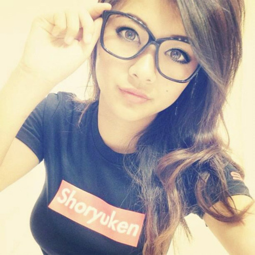Hot nerdy girls with nerd glasses