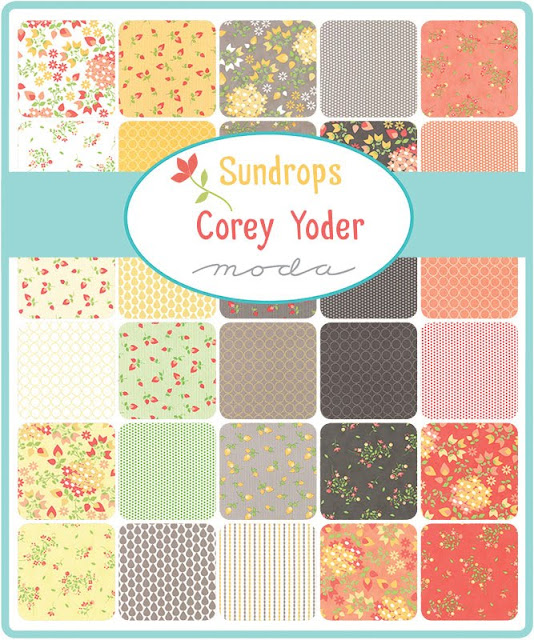 Sundrops fabric line from Moda designed by Corey Yoder