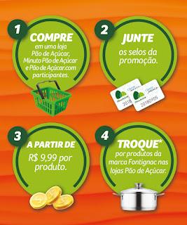 Promoção Juntou Trocou Pão de Açúcar 2018