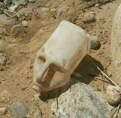 Un grupo de arqueólogos que estaen excaván prop de los fortins de Cabrera han trobat avui un cap de faraón intacte, se creu que correspón al faraón Tutanbidón I, cusí germá de Ramsés IV.