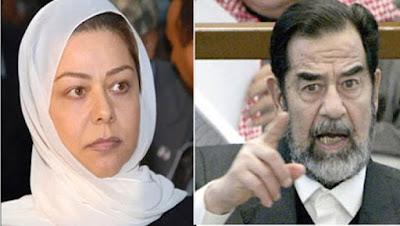 ابنة صدام حسين