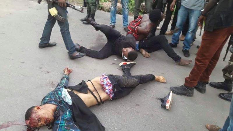Graphic: Police nab 6-man armed robbery group that terrorised Enugu on Wednesday