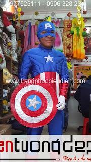 cho thuê đồ captain
