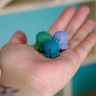 poulpe famille enfant made in france bébé décoration bleu