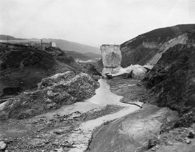 Fotografías del desastre de la presa St. Francis de 1928