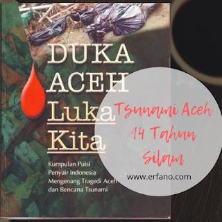 Buku kumpulan puisi Duka Aceh Luka Kita