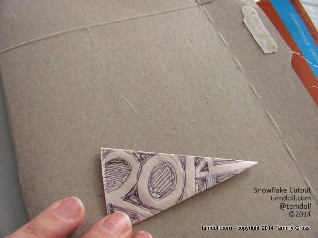 protect your cutting surface with a mat or doubled cardboard
