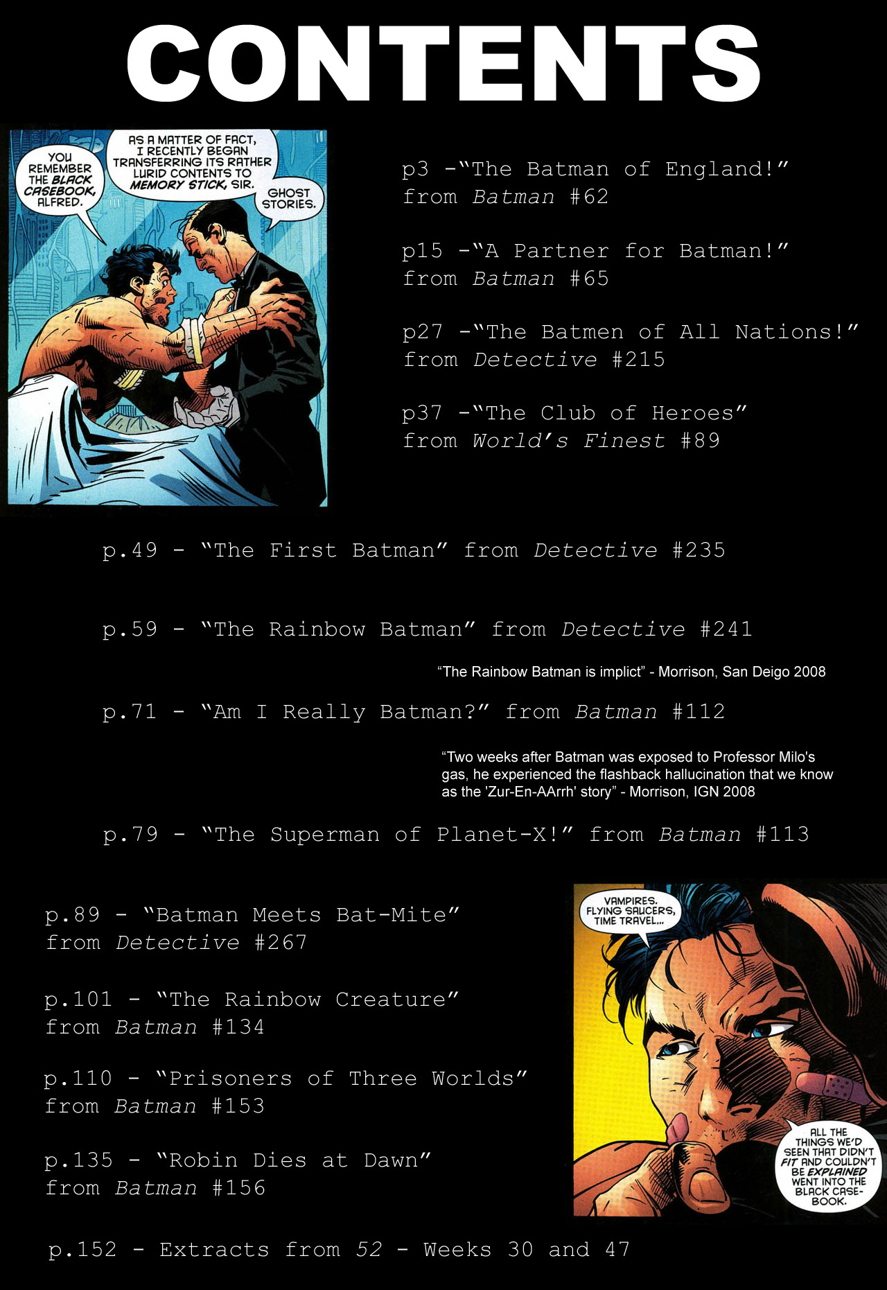 Read online Batman: The Black Casebook comic -  Issue # TPB - 3