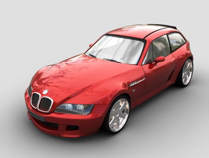 BMW M Coupe Hatchback Sports Car
