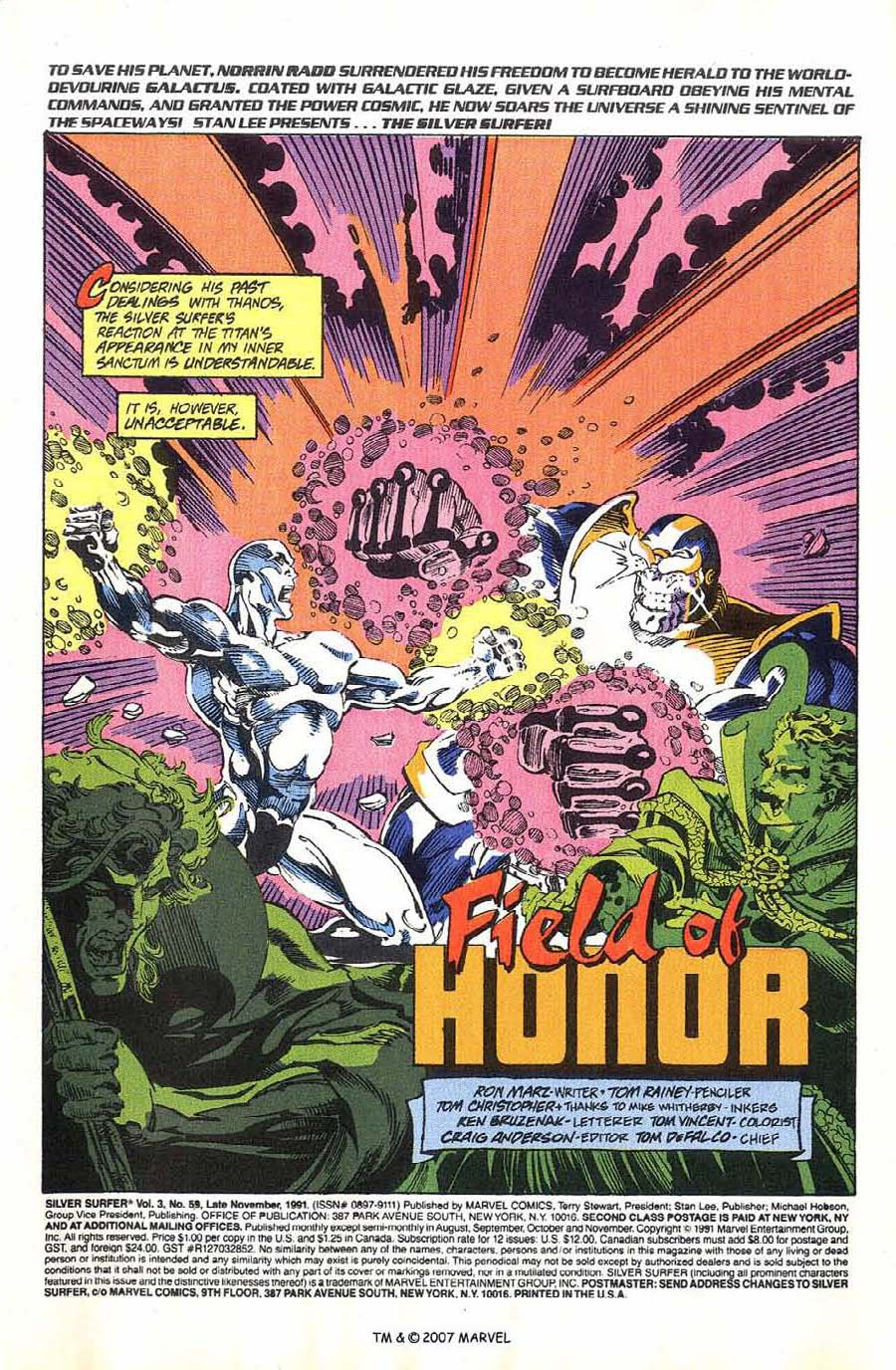 Read online Silver Surfer (1987) comic -  Issue #59 - 3