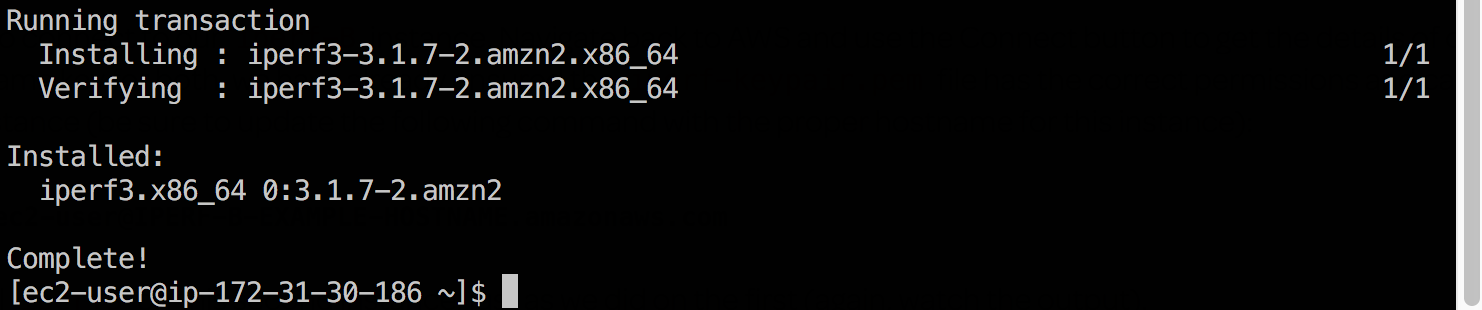 iPerf3 to Check the Bandwidth ~ Cult Of Cloud