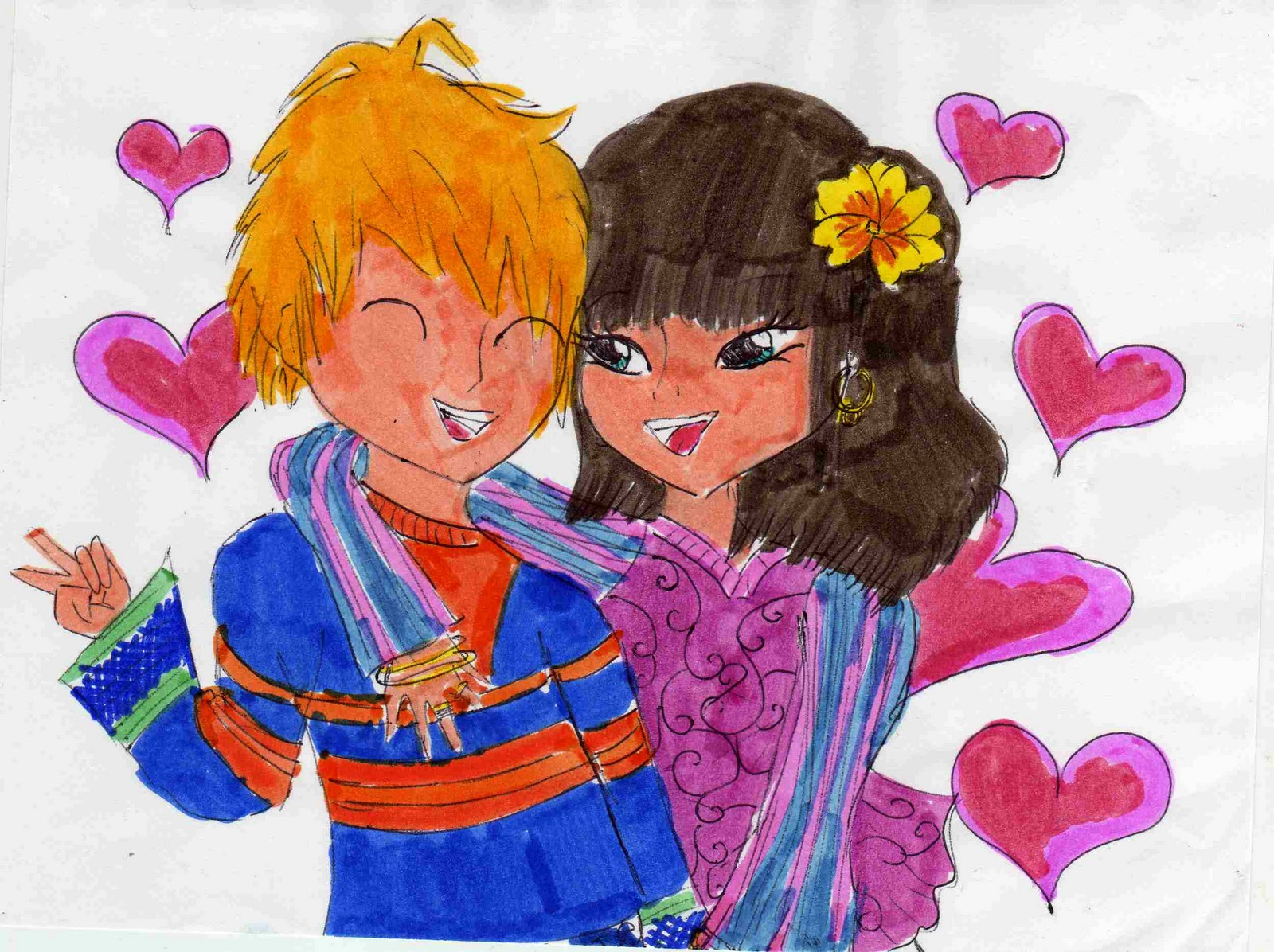 Les dessins de marianne novembre 2011 - Dessin de l amour ...