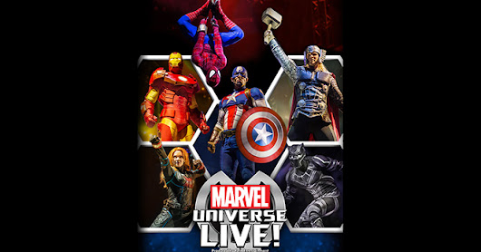 UPCOMING and GIVEAWAY: Marvel Universe Live at Little Caesars Arena, Detroit {ends 6/26}