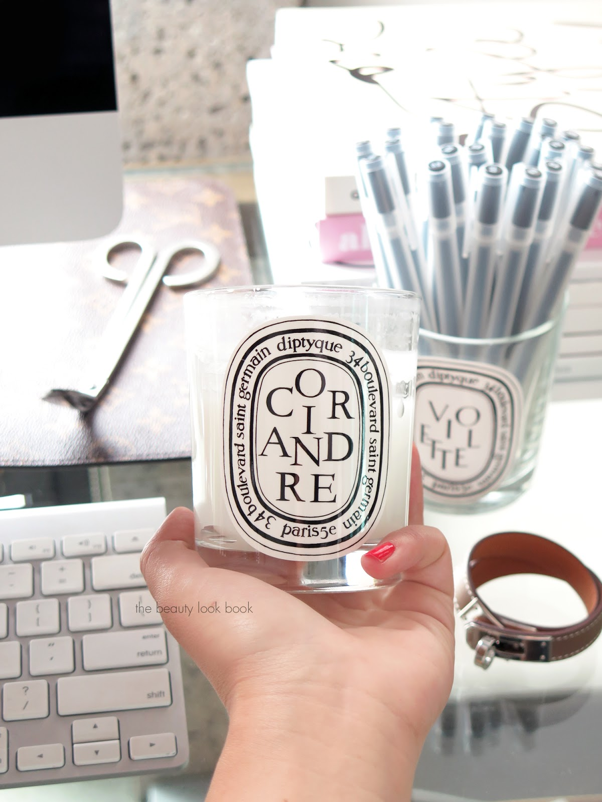 Coriandre Diptyque Coriandre Candle The Beauty Look Book