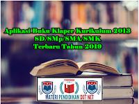Aplikasi Buku Klaper Kurikulum 2013 SD/SMp/SMA/SMK Terbaru Tahun 2019