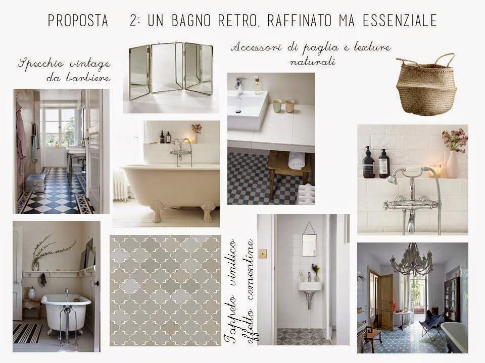 E design shop rinfrescare il look di un bagno la tazzina blu - Bagno con cementine ...