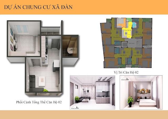 căn hộ 02 chung cư mini xã đàn