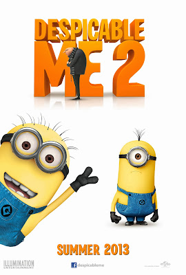Poster Of Free Download Despicable Me 2 2013 300MB Full Movie Hindi Dubbed 720P Bluray HD HEVC Small Size Pc Movie Only At worldfree4u.com