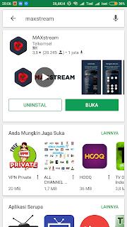 Beli Paket Murah VideoMax 30 GB cuma 10 Rupiah MAXStream