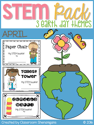 https://www.teacherspayteachers.com/Product/STEM-April-Earth-Day-Theme-Pack-2455590
