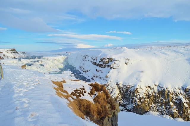 Iceland - Gullfoss Waterfall