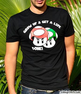 Grow Up Get Life T-Shirt