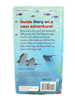 finding dory come swim with me book