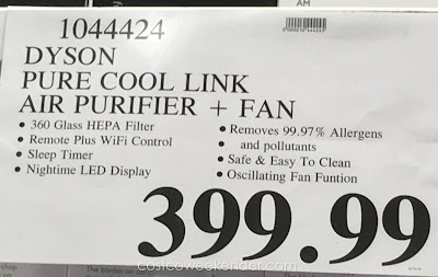 Deal for the Dyson Pure Cool Link HEPA Air Purifier at Costco