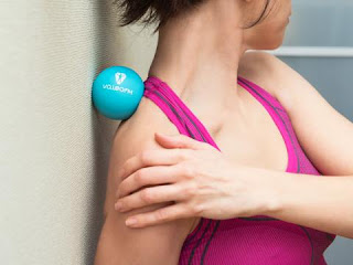 Lacrosse Balls for Upper Trapezius Trigger Points