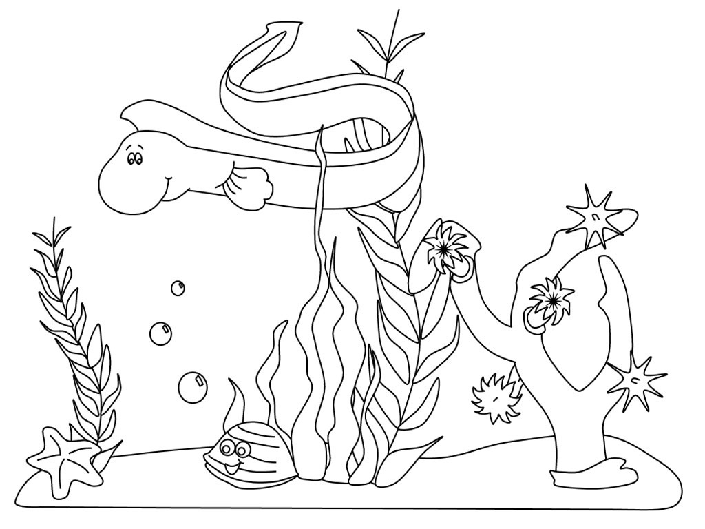 20000 leagues under the sea coloring pages - Under The Sea Coloring Pages 2