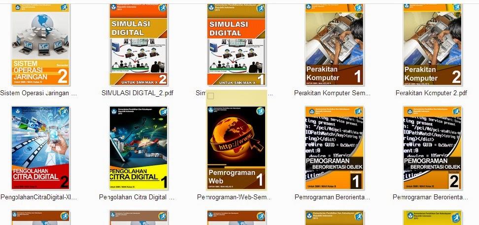 Buku kurikulum 2013 khususnya untuk Mapel C2 dan Mapel C3 SMK