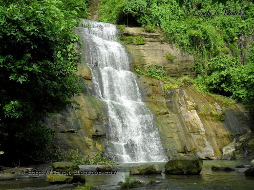 Khoiyachhora Waterfall in Chittagong