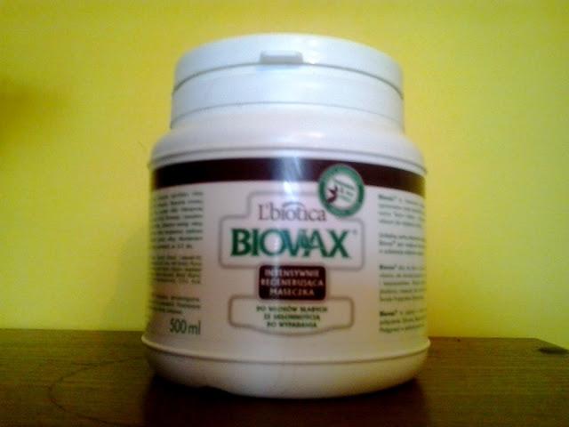 L`biotica, Biovax, Intensywnie regenerujaca maseczka do włosów słabych ze skłonnością do wypadania