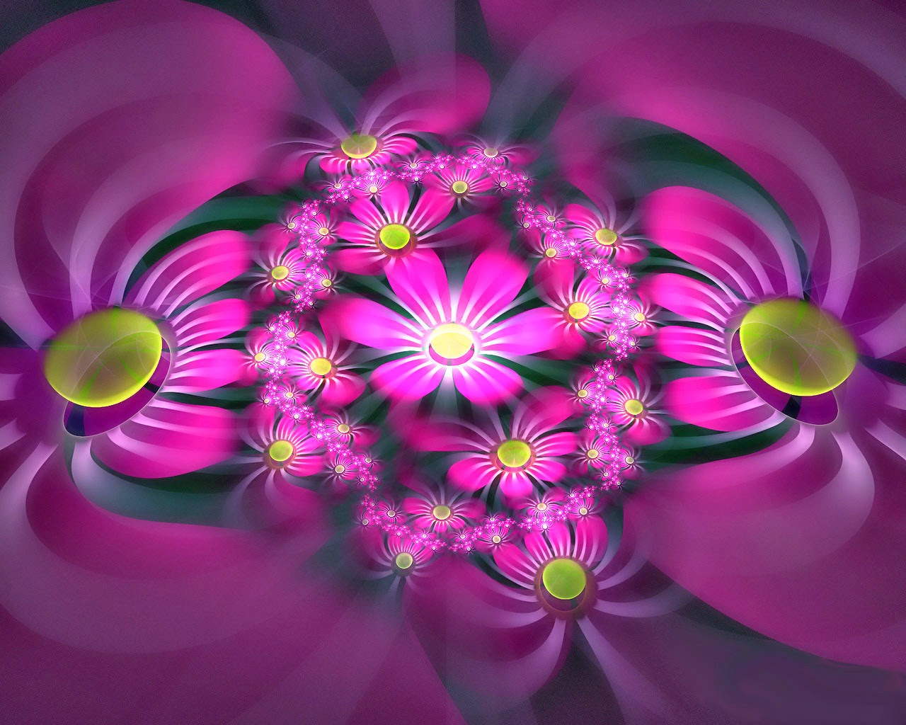 Flowers 3D New HD Wallpapers